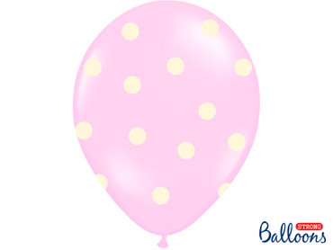 6 Ballons It´s a girl rosa-weiß – Bild 3