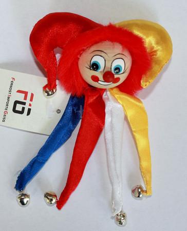 Clownanstecker Fastnacht
