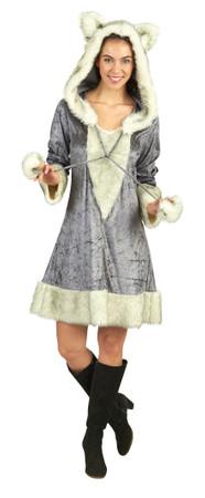 Silberfuchs-Kleid – Bild 1