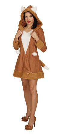 Fuchs-Kleid mit Kapuze