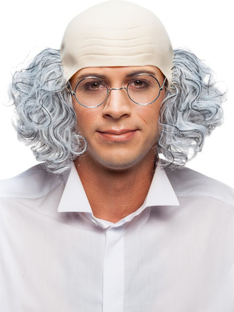 Perücke Professor – Bild 1