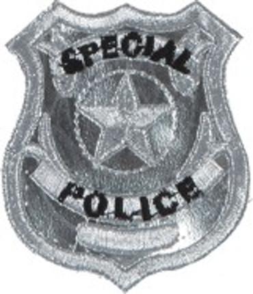 Emblem / Aufnäher Police