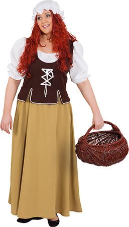 Mittelalter-Magd Kleid – Bild 1