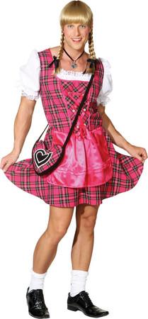 Herren-Dirndl Franzi pink