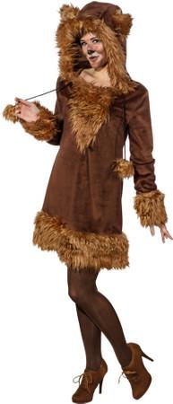 Bären-Kleid mit Kapuze – Bild 1