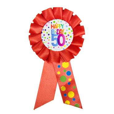 Anstecker Birthday 50 Dots
