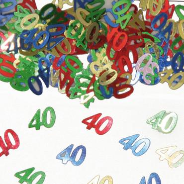 Folienkonfetti 40 bunt