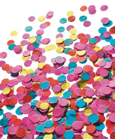 Papierkonfetti bunt 200 gr