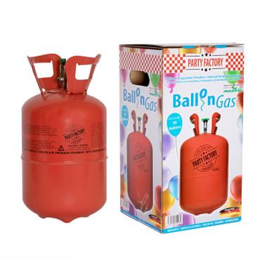 Helium Einwegflasche 30 Ballons - 0,25 ccm Ballongas – Bild 1