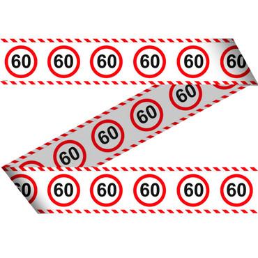 Absperrband Verkehrsschild 60