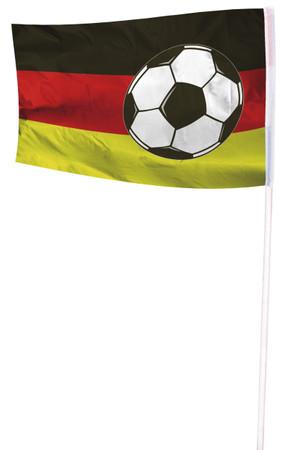 Fahne 100 x 150cm Deutschland mit Ball