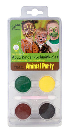 Schminkset Kids Animal Party
