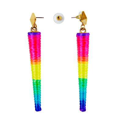 Ohrring Kegel neonfarben – Bild 1