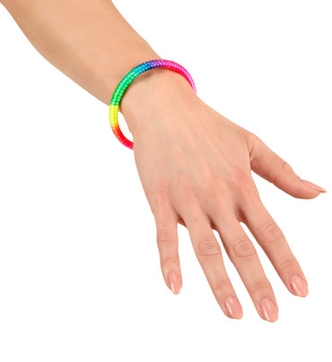 Armband Neon multicolor – Bild 2