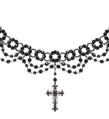 Halskette Gotisches Kreuz – Bild 1