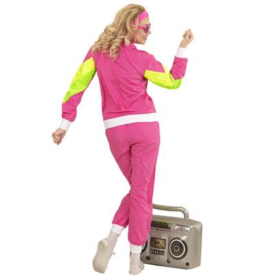 80er Jahre Trainingsanzug pink – Bild 3