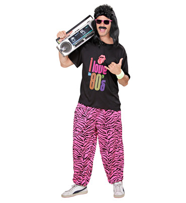 80er Jahre Junge Hose mit Shirt – Bild 2