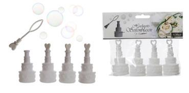4 Seifenblasen Hochzeitstorte