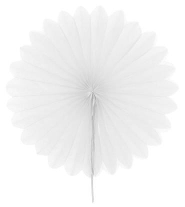 2 Mini-Fächer weiß Ø 20 cm