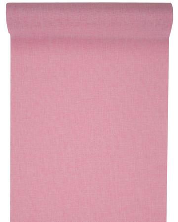 Dekoband Leinenoptik pink