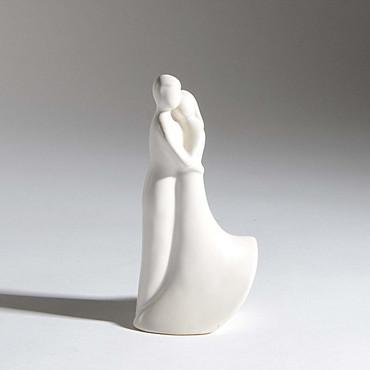 Figur Brautpaar weiß 18cm