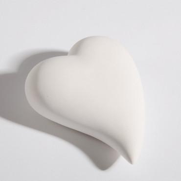 Herz Aika weiß 14,5cm