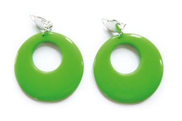 Creolen grün