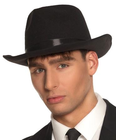 Al Capone Hut schwarz