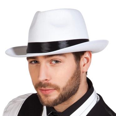 Al Capone Hut weiß