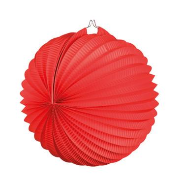 Laterne rund rot – Bild 1