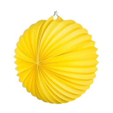 Laterne rund gelb – Bild 1