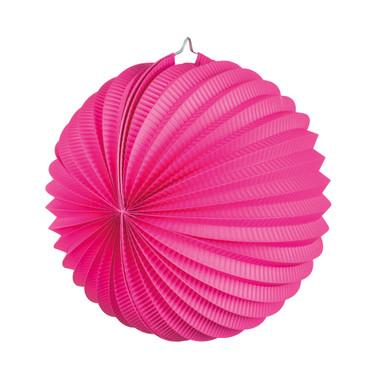 Laterne rund pink – Bild 1