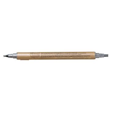 Kalligraphie-Stift metallic silber – Bild 1
