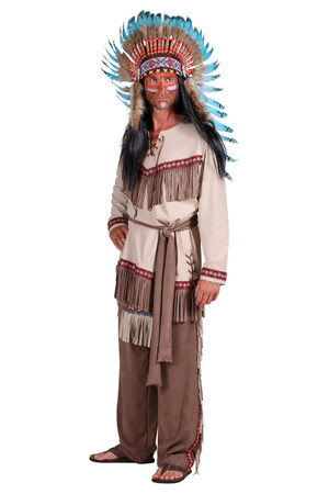 Indianer-Anzug 'White feather' – Bild 2