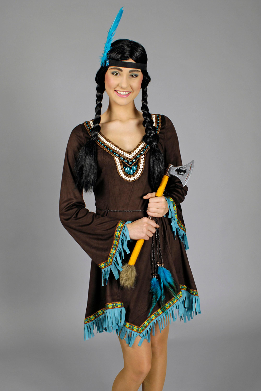 Indianerin-Kleid Apache bei Festartikel Schlaudt Koblenz ...