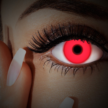 Kontaktlinse UV Red In Your Eyes – Bild 2