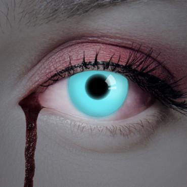 Kontaktlinse UV Deep Blue – Bild 3
