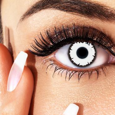 Kontaktlinse White Vampire – Bild 3