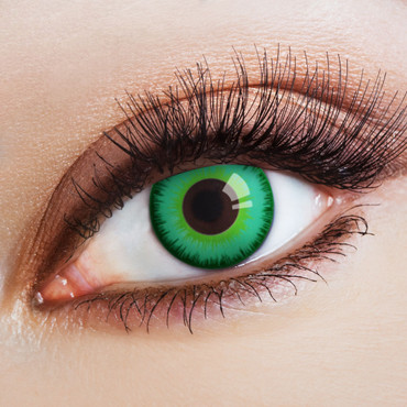 Kontaktlinse Magic Green Eye – Bild 1