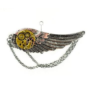 Brosche Steampunk Flügel