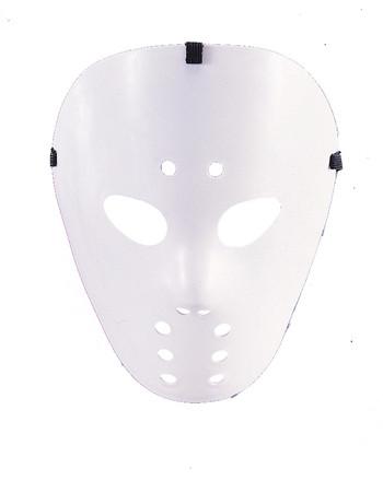 Hockey Maske weiß