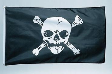 Fahne 90 x 150cm Pirat