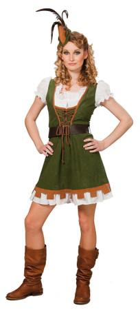 Miss Robin-Kleid