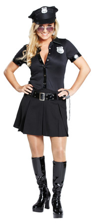 Polizistin-Kleid