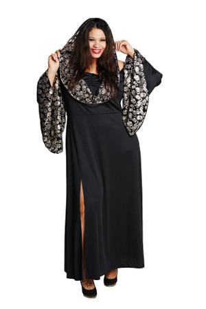Skull Robe-Kleid Fullcut