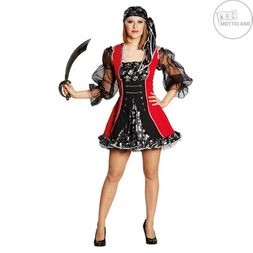 Piratenbraut-Kleid