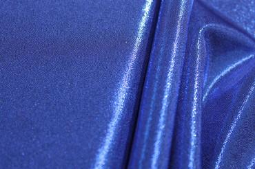 Lycra Luxe Glitter blau – Bild 4