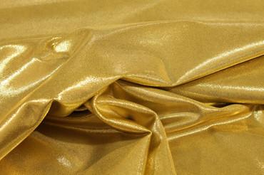 Lycra Luxe Glitter gold – Bild 3