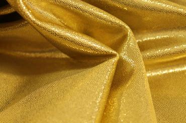 Lycra Luxe Glitter gold – Bild 4