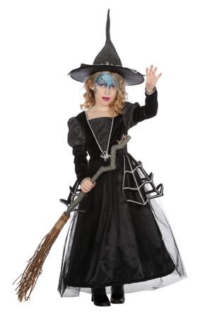 Kleid Hexe Spinne – Bild 1